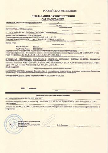 бланки документов 2012г